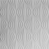 10' Wide x 4' Long Shallot Pattern Brushed Aluminum Finish Thermoplastic Flexlam Wall Panel