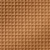 10' Wide x 4' Long Square 5 Pattern Brushed Copper Finish Thermoplastic Flexlam Wall Panel