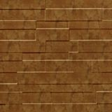 FlexLam 3D Wall Panel | 4ft W x 10ft H | Tetrus Pattern | Muted Gold Finish