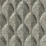 FlexLam 3D Wall Panel | 4ft W x 10ft H | South Beach Pattern | Galvanized Finish