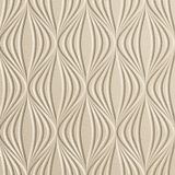 FlexLam 3D Wall Panel | 4ft W x 10ft H | Shallot Pattern | Almond Finish