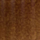 10' Wide x 4' Long Curves Pattern Antique Bronze Finish Thermoplastic Flexlam Wall Panel