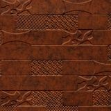10' Wide x 4' Long Versa-Tile Pattern Moonstone Copper Finish Thermoplastic FlexLam Wall Panel