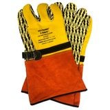 Saf-T-Gard® Voltgard® VLP-214 V-GRIPS® Leather Protector Gloves