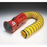 "Allegro® 9506-25 8"" DC Axial Blower with Canister and 25' Ducting"