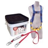 3M™ PROTECTA® Compliance in a Can™ Light Roofer's Fall Protection Kit with Tongue-Buckle Legs on Harness