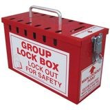 Accuform® KCC617 Portable Group Lock Box