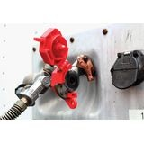 Accuform® STOPOUT® KDD477 Trailer-Lock Glad Hand Lockout