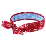 Ergodyne® Chill-Its® ERG-6700CT/R Evaporative Cooling Bandana with Cooling Towel - Tie