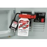 Accuform® STOPOUT® KDD160 120/240 Circuit Breaker Lockout, Single Pole