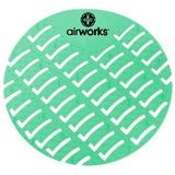 Airworks® Green Herbal Mint EVA Urinal Screens (AWUS002)