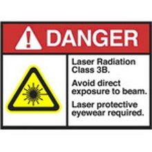 Radiation & Laser Signs