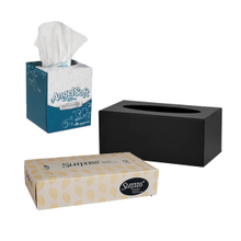 Facial Tissue & Dispenser
