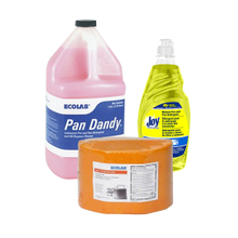 Pot Sink & Manual Dish Detergents
