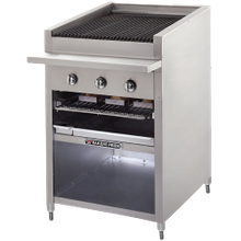 Solid Fuel Charbroilers