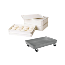 Pizza Dough Boxes & Pans