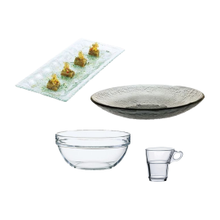 Glass Dinnerware Collections