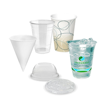 Cold Beverage Cups & Lids