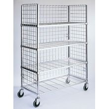 3-Sided Mobile Carts