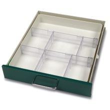 Modular Drawer Tray for Mini or Narrow Cart