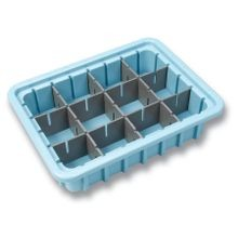 Divisible Drug Tray, Small, 2 1/2