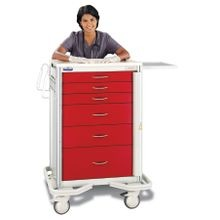 Premier Aluminum Two-Tone Emergency Carts
