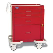 Standard Steel Solid Color Emergency Carts