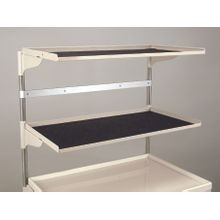 Standard Deep Two-Shelf Shelving Unit