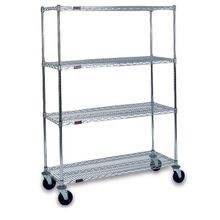 Mobile Wire Shelving Units