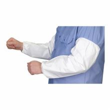 Lakeland TG850-18 Disposable Sleeve 18 in L White MicroMax