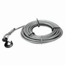 JET 286574 Wire Rope, 5/16 in Dia, 66 ft L, For Use With JG Grip Pullers, Steel