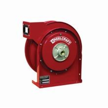 Reelcraft 4400 OLP 4000 Low Pressure Premium Duty Hose Reel, 1/4 in ID x 19/40 in OD x 35 ft L Hose, 300 psi, 12-3/8 in Dia x 2-1/2 in W Reel, Domestic