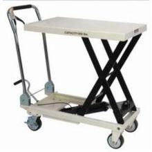 JET 140777 Scissor Lift Table With Folding Handle, 660 lb Load, 32-1/2 in L x 19-5/8 in W, 10-5/8 in Lowered