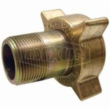 Dixon ME120 Hose Coupling, 2-1/4 x 1-1/4 in, Female ACME x MNPT, Brass, Domestic