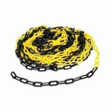 Brady BradyLink 78254 Warning Chain, 2 in W, 100 ft L, Black/Yellow, B-900 Polyethylene