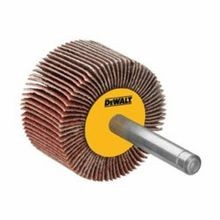 DeWALT DAFE1E0610 High Performance Coated Flap Wheel, 2 in Dia x 1/2 in W, 1/4 in, 60 Grit, Aluminum Oxide Abrasive