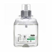 GOJO 5167-03 E1 FMX-12 Handwash, 1250 mL, Dispenser Refill, Foam, Fragrance-Free/Soapy, Clear/Colorless to Pale Yellow