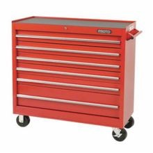 Proto J444142-6RD 440SS Standard Duty Mobile Work Station, 41 in L x 41-1/2 in W x 42 in H, 3000 lb Load, Red