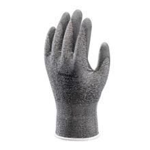 Showa Best 541 Light Weight Cut-Resistant Gloves, SZ 9/XL, Polyurethane Palm, Gray on Black, Seamless