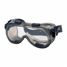 Crews 2410 Verdict Indirect Vent OTG Protective Goggles With Elastic Strap, Universal, Anti-Fog/Scratch Resistant Clear Lens, Smoke Frame