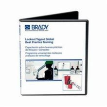 Brady 132427 Global Training Video USB, English/Spanish/French/Portuguese/Simplified Chinese, 25 min, Lockout Tagout