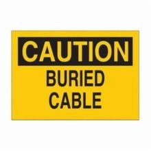 Brady 84847 Rectangular Electrical Safety Sign, 10 in W x 7 in H, Black on Yellow, B-302 Polyester, CAUTION KEEP ELECTRIC PANEL AREA CLEAR