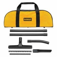 DeWALT D279059 Dust Extractor Accessory Kit, 5 Pieces, For Use With DWV012 Dust Extractor, 6 in L, ABS, Black