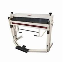 JET 752125 Box and Pan Brake With Foot Clamp, 40 in Bending Length, 12 ga Gauge, 2-1/2 in Maximum Depth of Box
