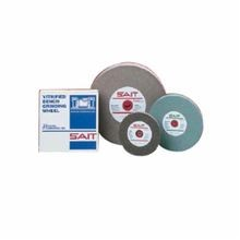 SAIT 28023 General Purpose Type 1 Bench Grinding Wheel, 8 in Dia x 1 in THK, 1 in, 36 Grit, Aluminum Oxide Abrasive
