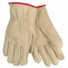 Memphis 3202S Economy Grade Drivers Gloves, S, Grain Cowhide Leather Palm, Beige, Gunn Cut/Standard Finger/Straight Thumb, Cotton Thread/Leather/Polyester