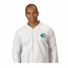 Lakeland TG412-4X Disposable Coverall 4XL White MicroMax, 60 to 62 in Chest, 29 in Inseam