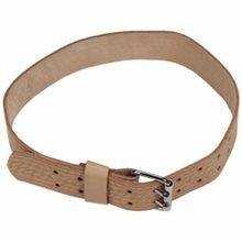 Proto J95238 Heavy Duty Work Belt, Top Grain Saddle Leather, Tan