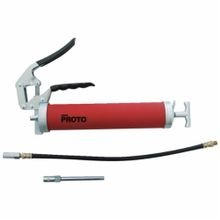 Proto JFC33HD-TT Heavy Duty Pistol Grip Tethered Grease Gun, 14 oz Cartridge, 3600 psi Operating, 2 mL Output