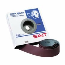 SAIT 80830 EA-F Industrial Coated Abrasive Roll, 2 in W x 50 yd L, 80 Grit, Medium Grade, Aluminum Oxide Abrasive, Cloth Backing